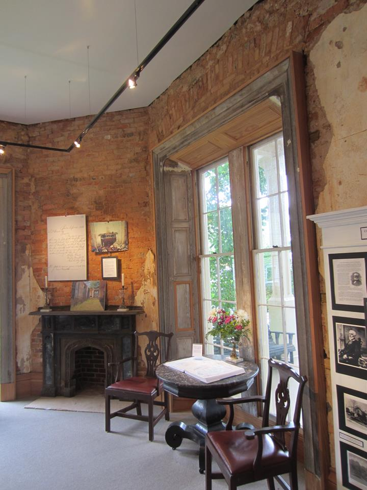 Front room at the Atlanta Preservation Center by Chad Carlson