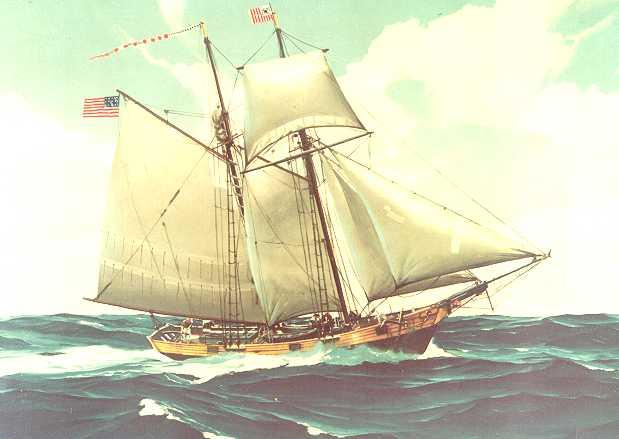 U.S. revenue cutter, c. 1791