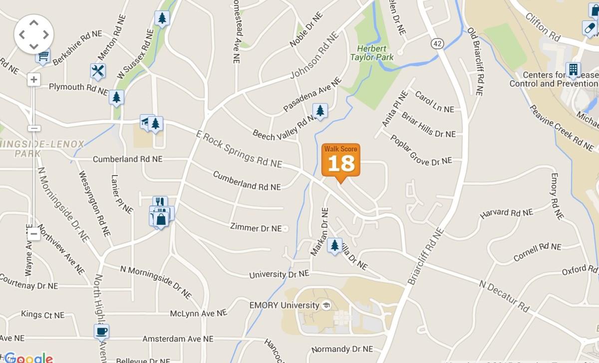 Annexation, Edmund Park locator map