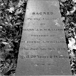 Cemetery, inscription