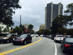 Peachtree Road, bike lane proposal