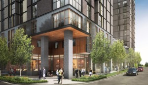 Carter has demonstrated its capacity to provide mixed use projects that combine retail with student livingLofts, including Foundry Lofts, at the University of Michigan. Credit: carterusa.com