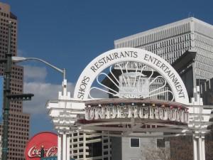 Underground Atlanta marquee