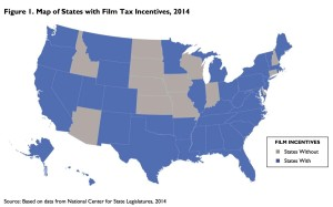 Film tax credits by state