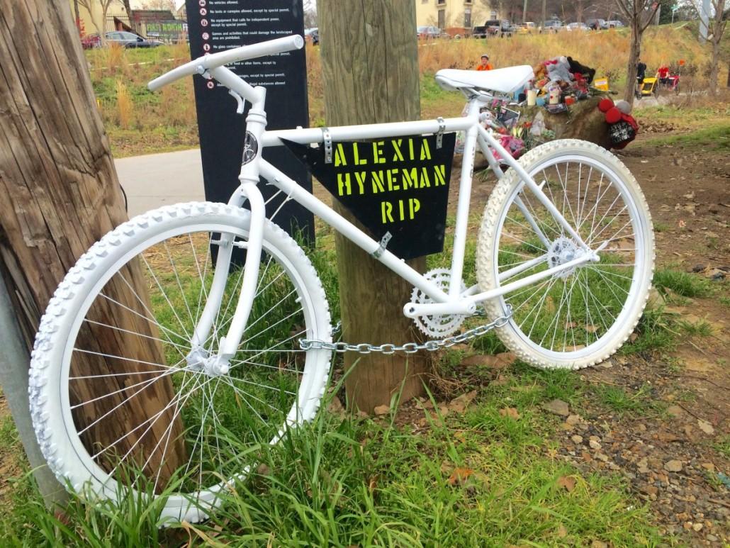 Alexis Hyneman bicycle