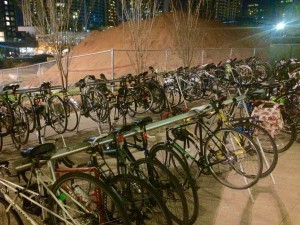 ABC bicycle parking