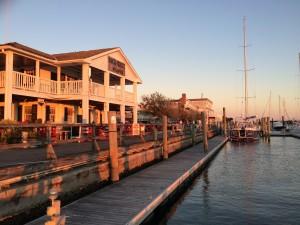 Beaufort, waterfront