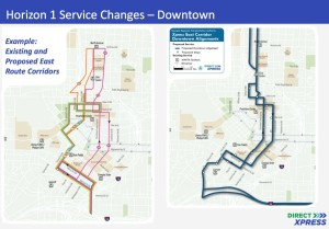 GRTA, downtown service changes