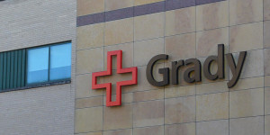 Commentator Maria Saporta remembers back 10 years ago when Atlanta's Grady Hospital was facing insolvency. AL SUCH / WABE