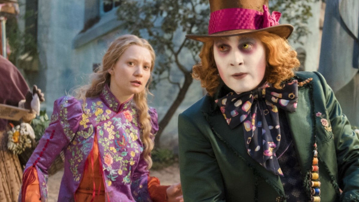 Alice Through the Looking Glass, Depp