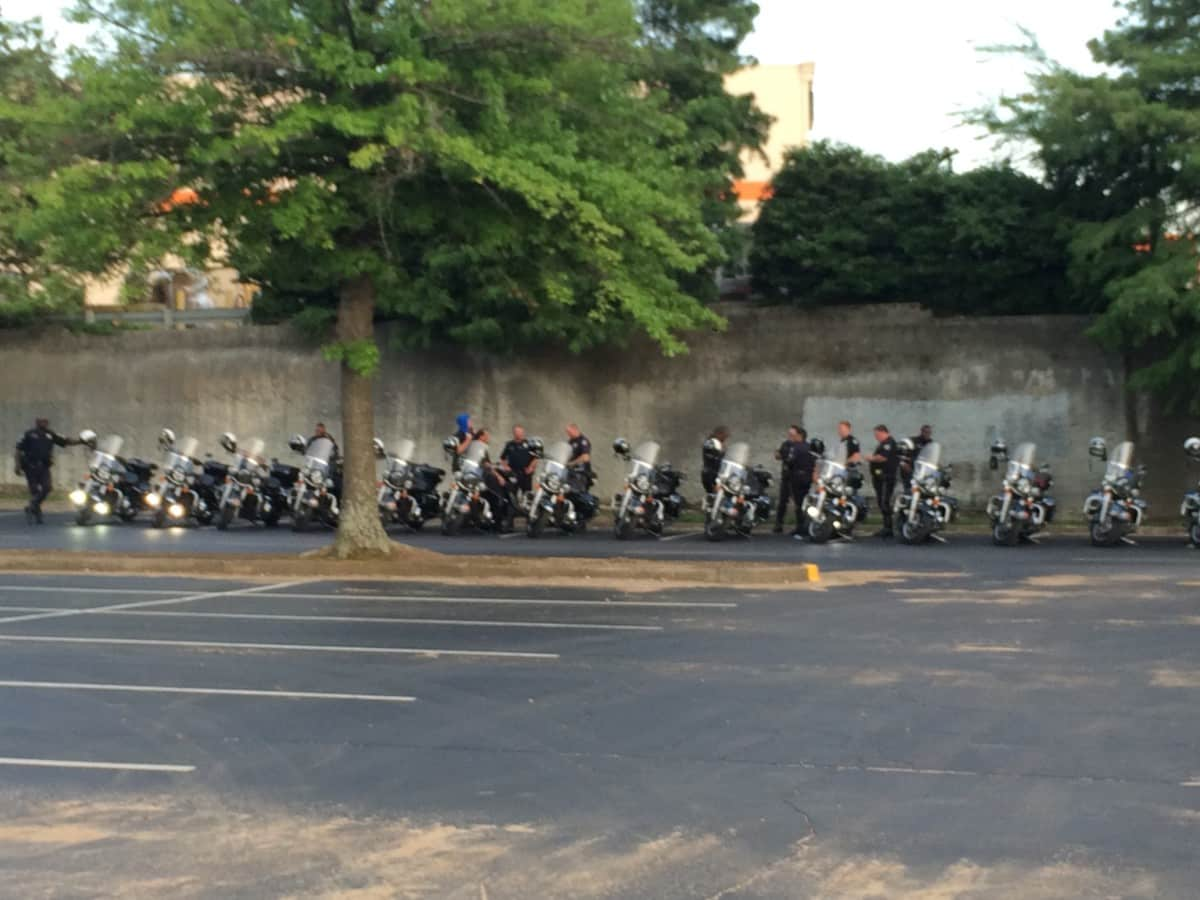 APD motorcycle riders