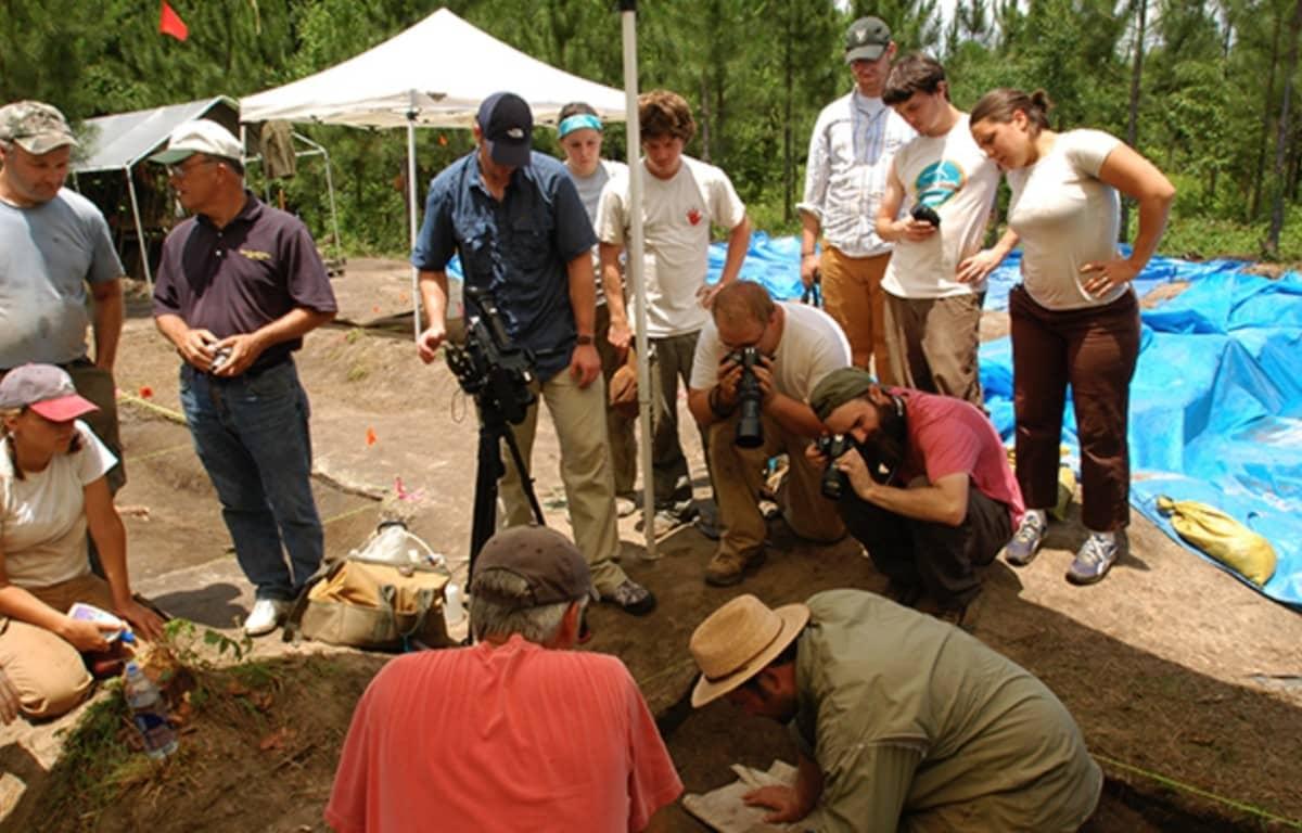 gsu, archaeology field school