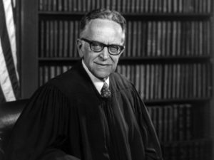 Justice Harry Blackmun wrote the decision in Doe v. Bolton (1973). Courtesy of Library of Congress, Prints and Photographs Division