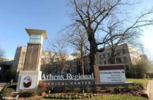 Athens Regional Medical Center, monument