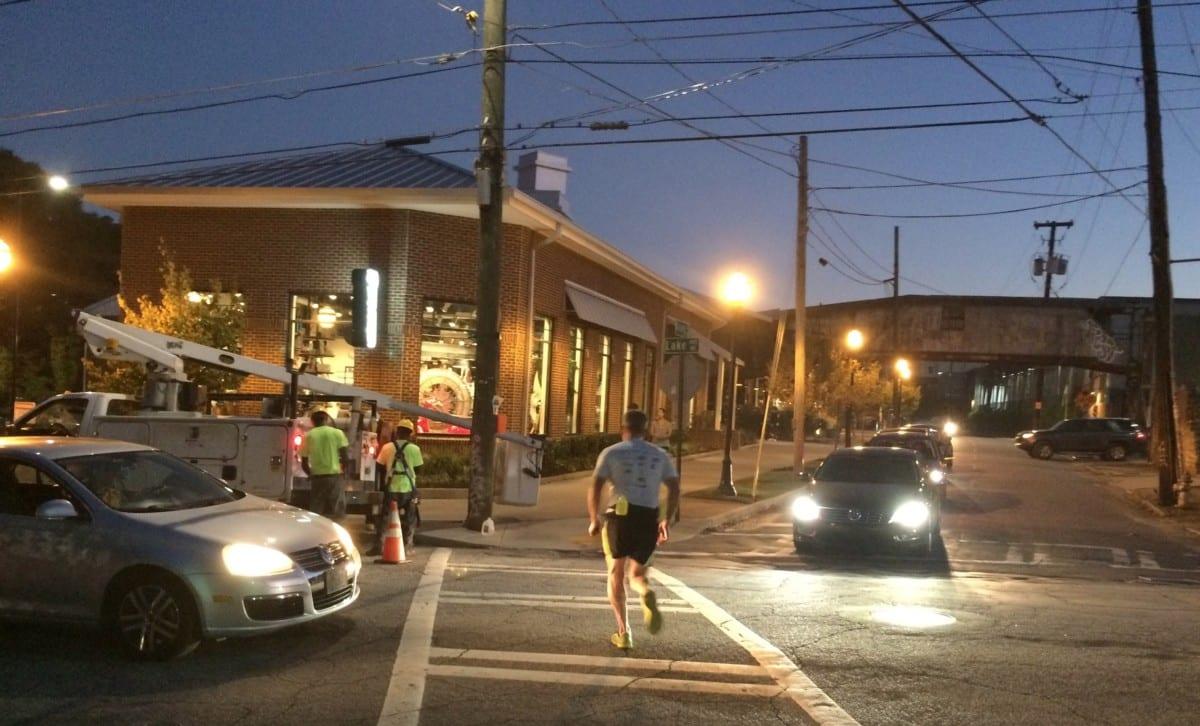 Krog Street jogger, Oct. 11:2016