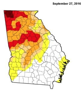 drought map 9:27:16