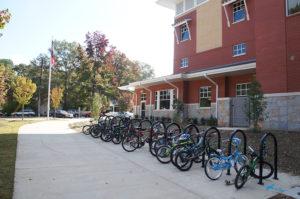 Academy bike rack
