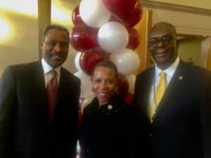 HBCU presidents Wilson Campbell Johnson