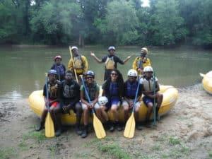 American Explorers, rafting