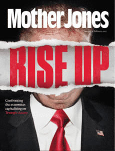 Latest issue of Mother Jones magazine rips catchphrase for United States of Atlanta