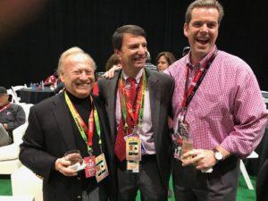 John Williams, Doug Hertz and Dr. Charlie Brown