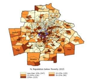 population below poverty, 2015