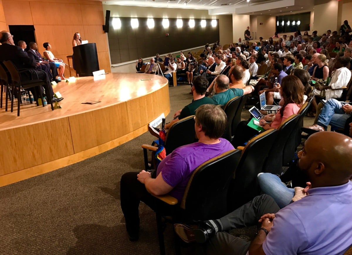 Atlanta mayoral forum on green space