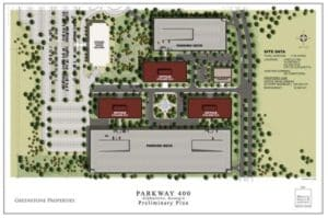 parkway 400, map
