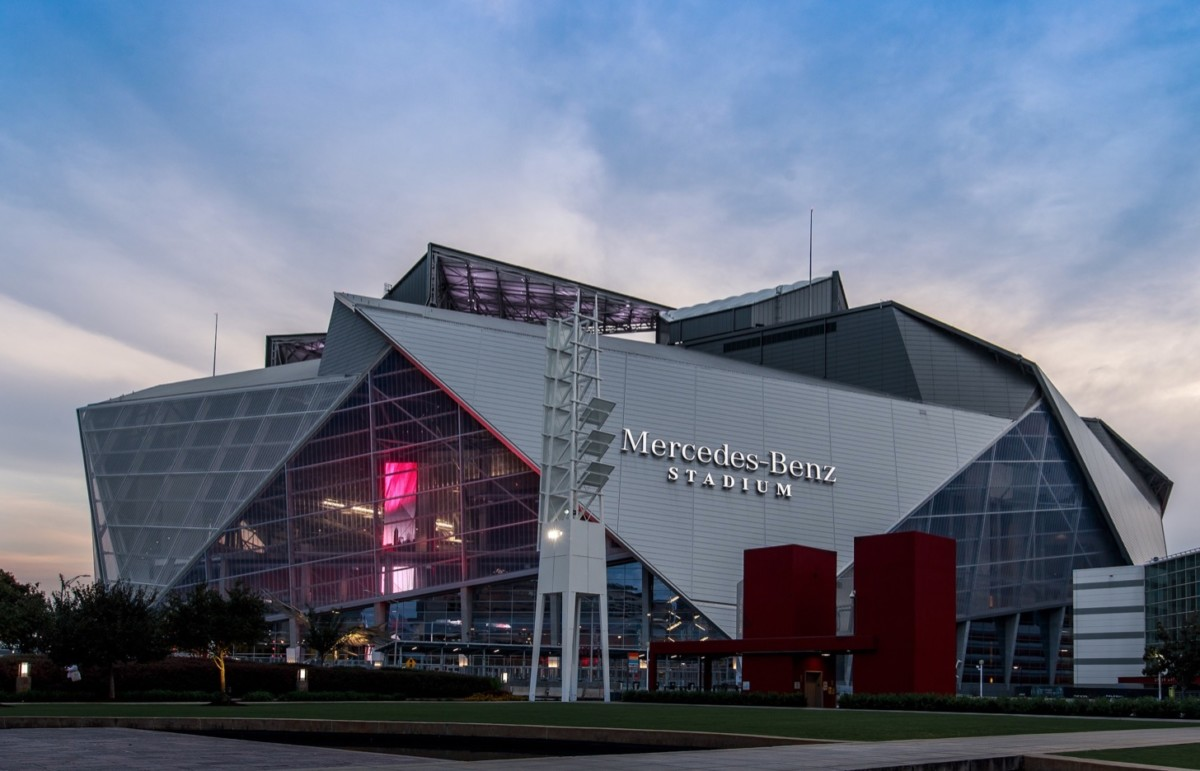 Mercedes Benz Stadium, portrait