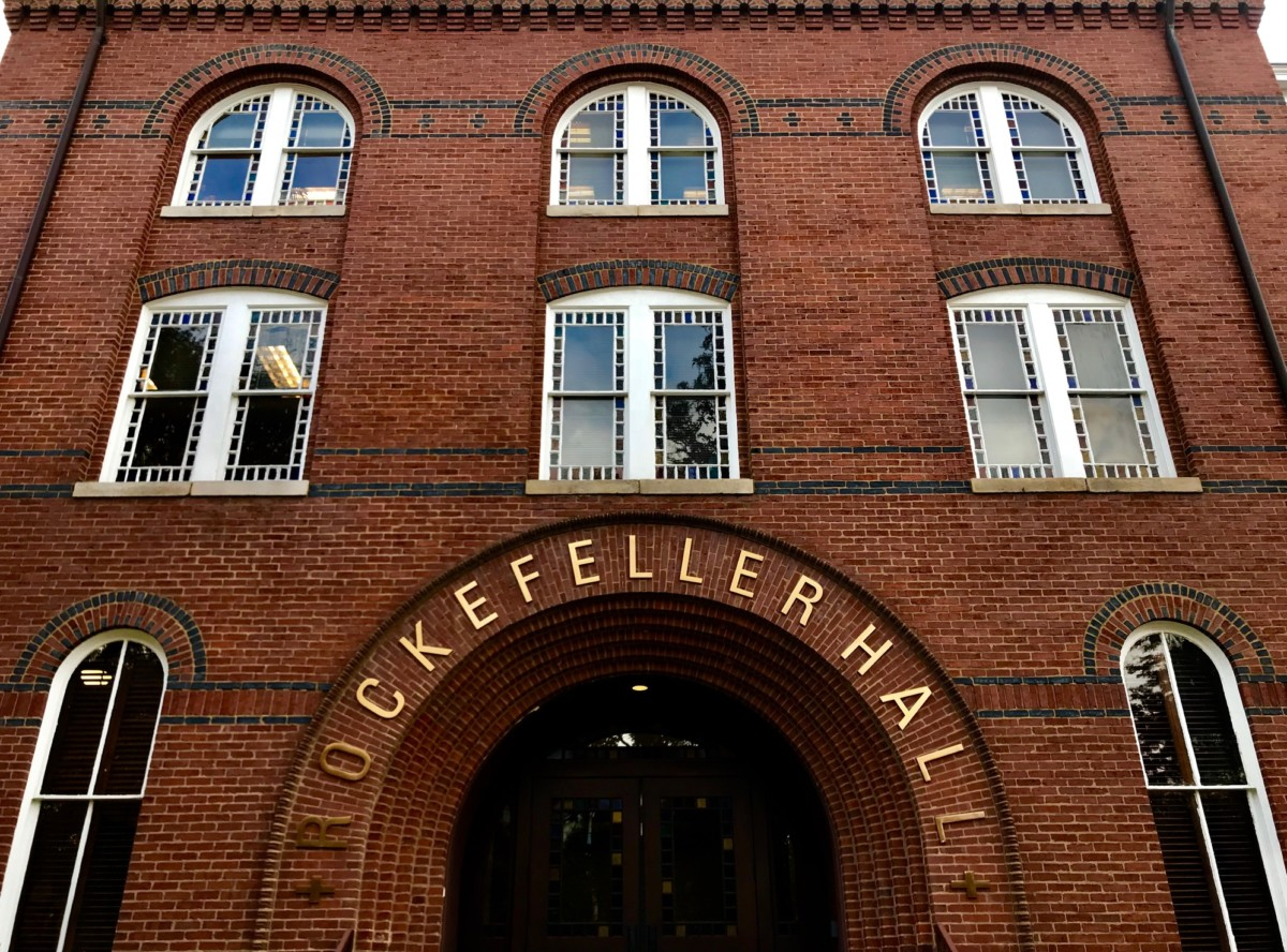 Rockefeller Hall by Kelly Jordan