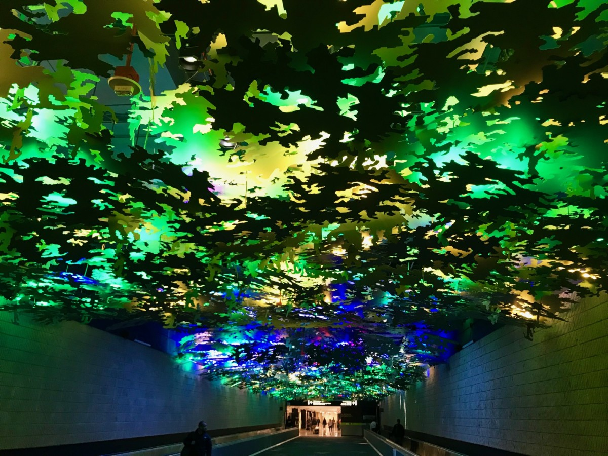Art at Atlanta Hartsfield-Jackson International Airport. Credit: Kelly Jordan