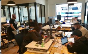 wework, shared space