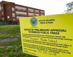 Howard trees sign