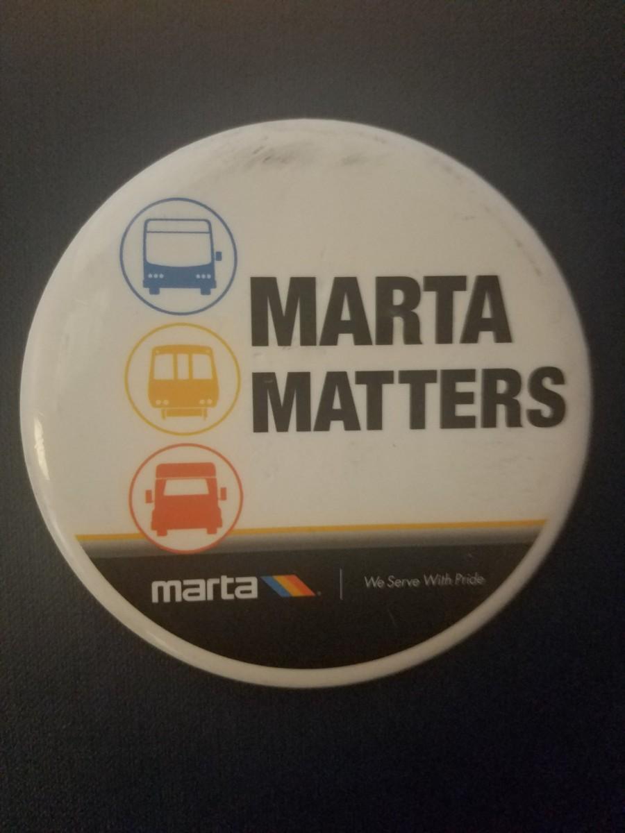 MARTA Matters Button