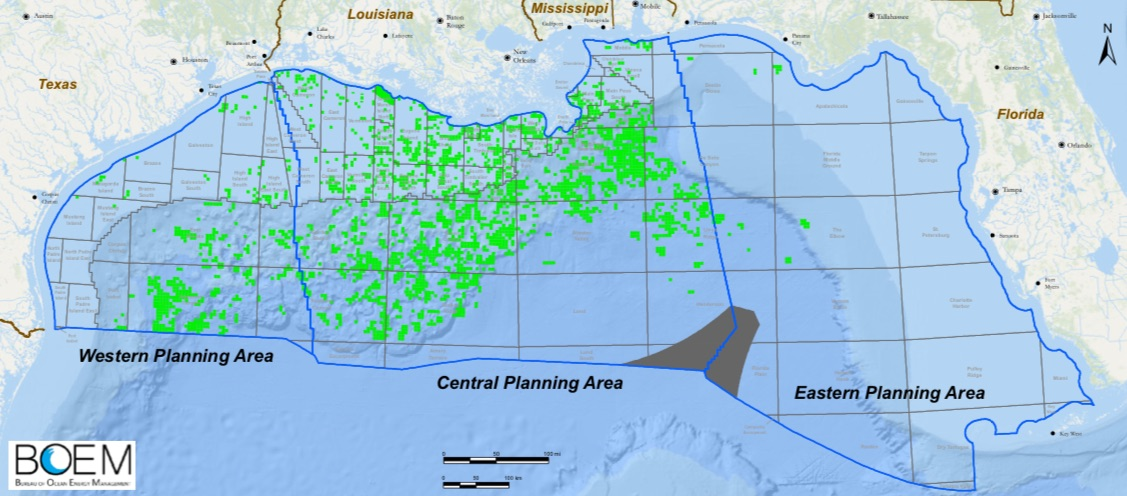 gulf oil drilling