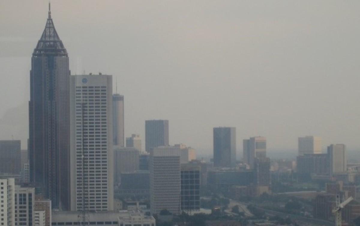Atlanta smog, 2017