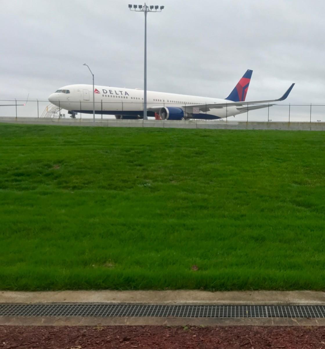 Delta on runway