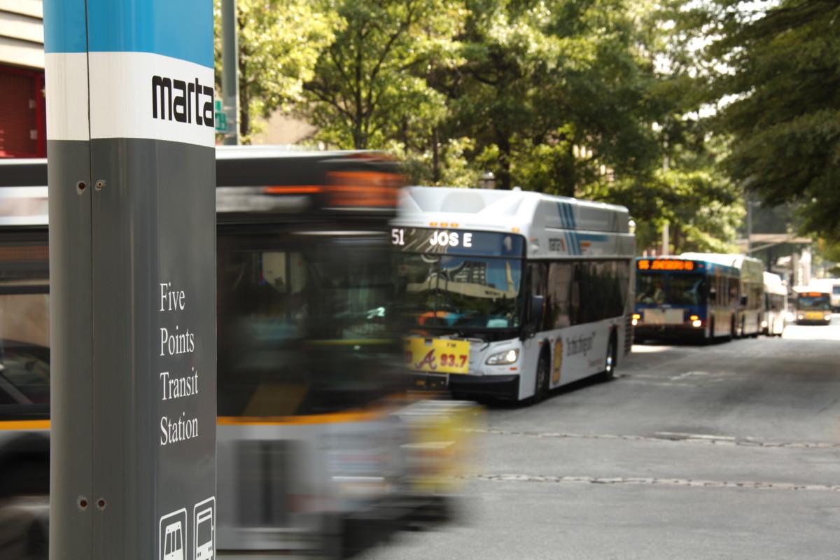 MARTA buses