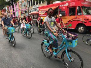 bikes, streets alive