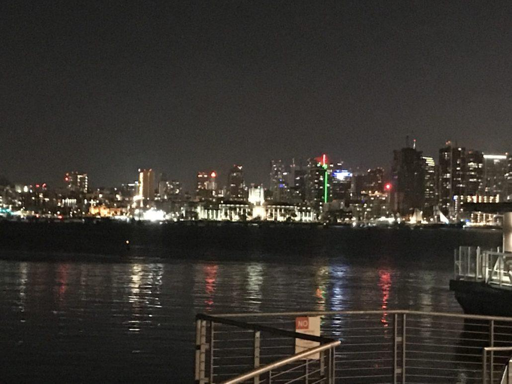 San Diego night
