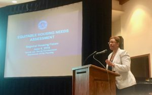 housing forum Terri Lee