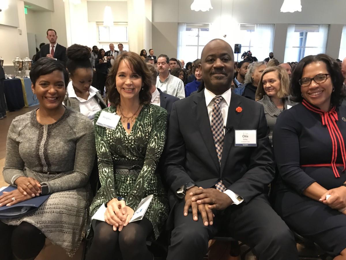 Keisa Lance Bottoms, Stephanie Stuckey, Otis Rolley and Kisha Powell