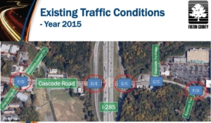 Cascade Road at I-285