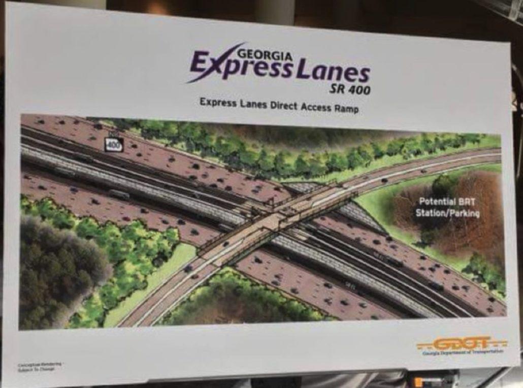 express lanes on 400 poster