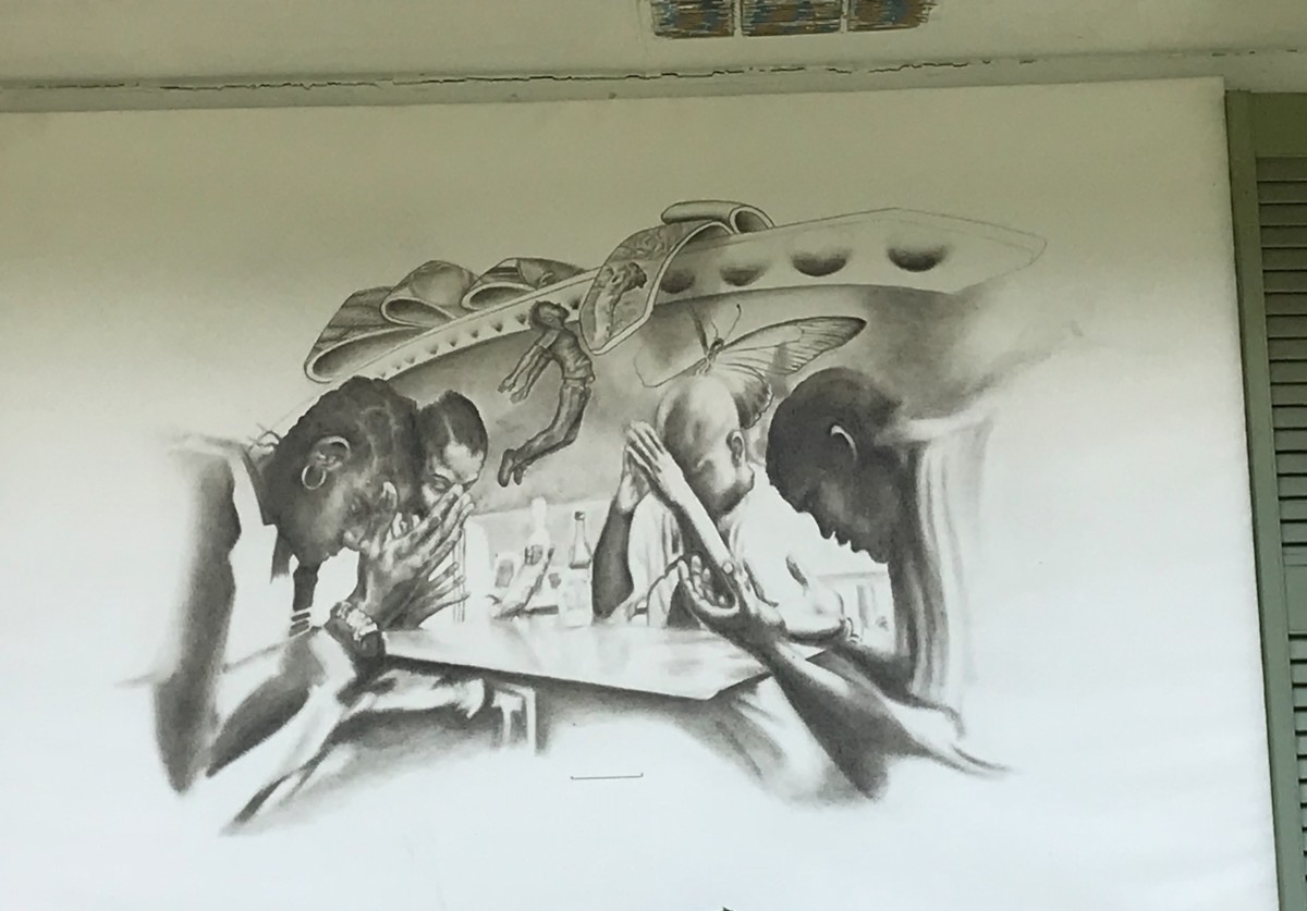 kathryn johnston, window artwork