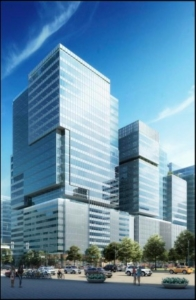 A sketch of the plan for 172 West Peachtree. Rendering from Invest Atlanta