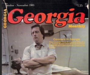 Joe Burton, magazine cover