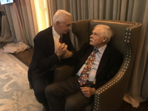 Harvey Schiller and Ted Turner