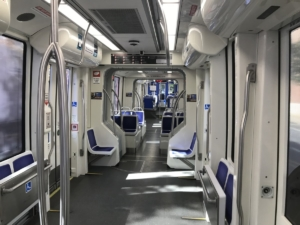 streetcar, seats available