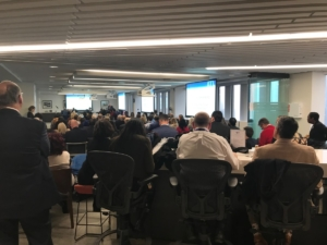 A full house for The ATL's first board meeting. Credit: Maria Saporta